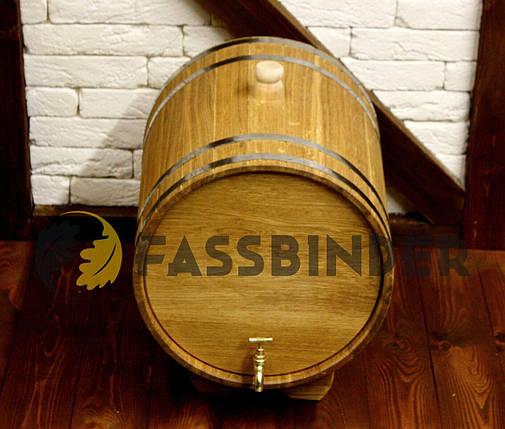 Дубовый жбан для напитков Fassbinder™, 40 литров, фото 2