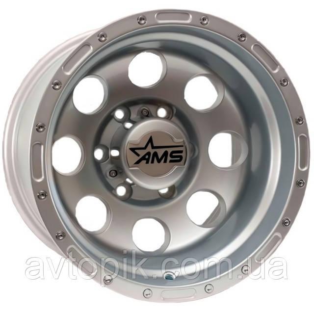 Литые диски GT 87 R15 W10 PCD6x139.7 ET-46 DIA110.1 (silver)
