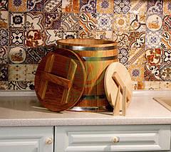 Кадка дубовая для солений Seikō™, 30 литров, фото 3