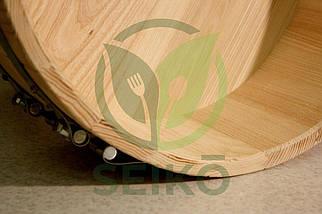 Хангири (кадка для приготовления риса) из ясеня Seikō™, 10 литров, диаметр 39 см, фото 3