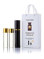 Мини-парфюм Tom Ford Tobacco Vanille, унисекс 3х15 мл