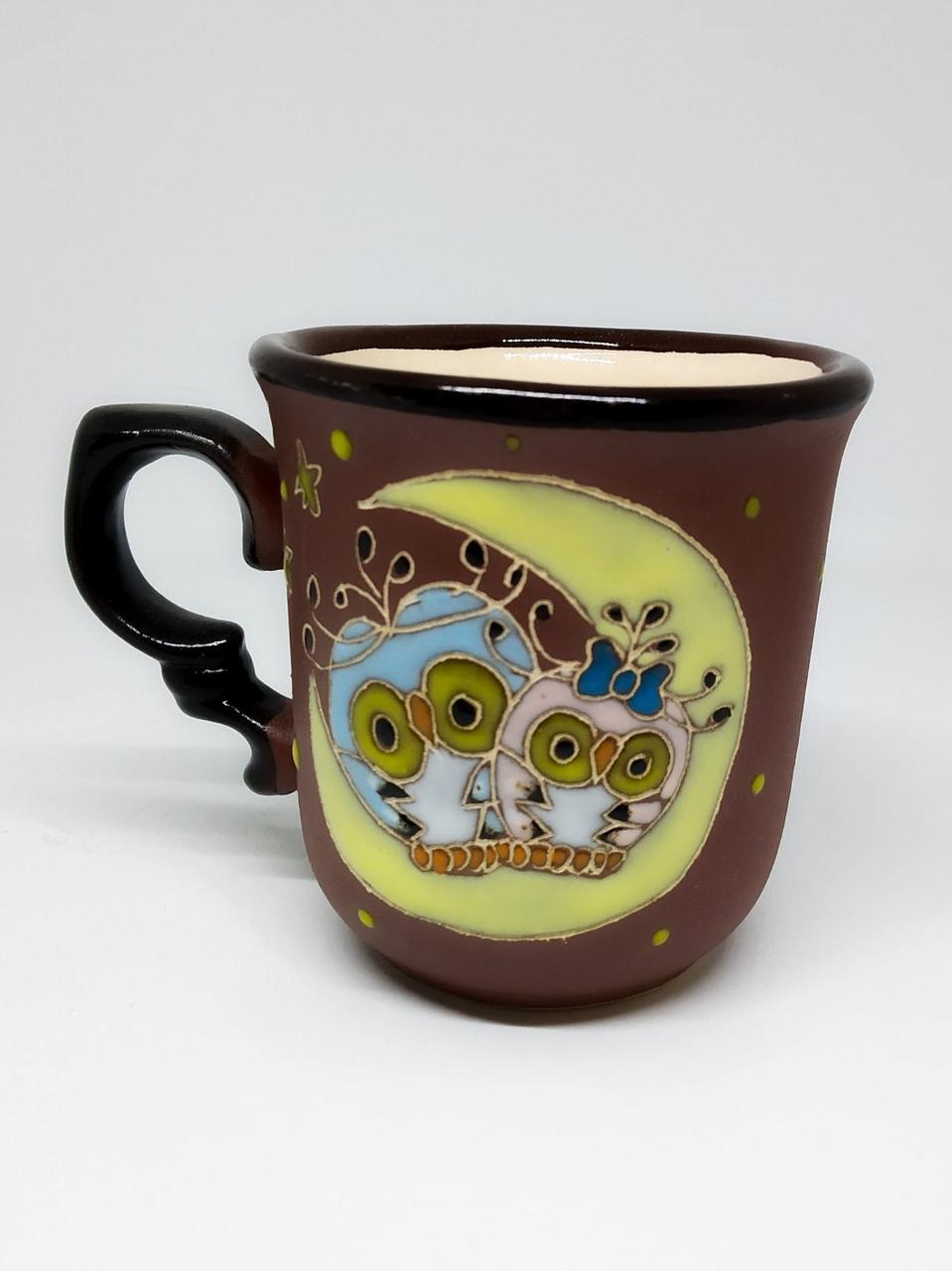 """Чашка кавова """"Сови на місяці"""""""