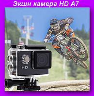 Экшн камера A7,Экшн камера HD,Водонепроницаема камера!Лучший подарок