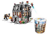 """Конструктор JVToy аналог Lego Super Heroes 76108 """"Война Бесконечности.Решающий бой Санктум Санкторум"""",1072дет."""