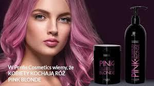 Profis PINK Blond - Антижелтая серия с розовым эффектом