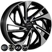 Литі диски Replica Hyundai (BK5518) R18 W7.5 PCD5x114.3 ET51 DIA67.1 (BP)