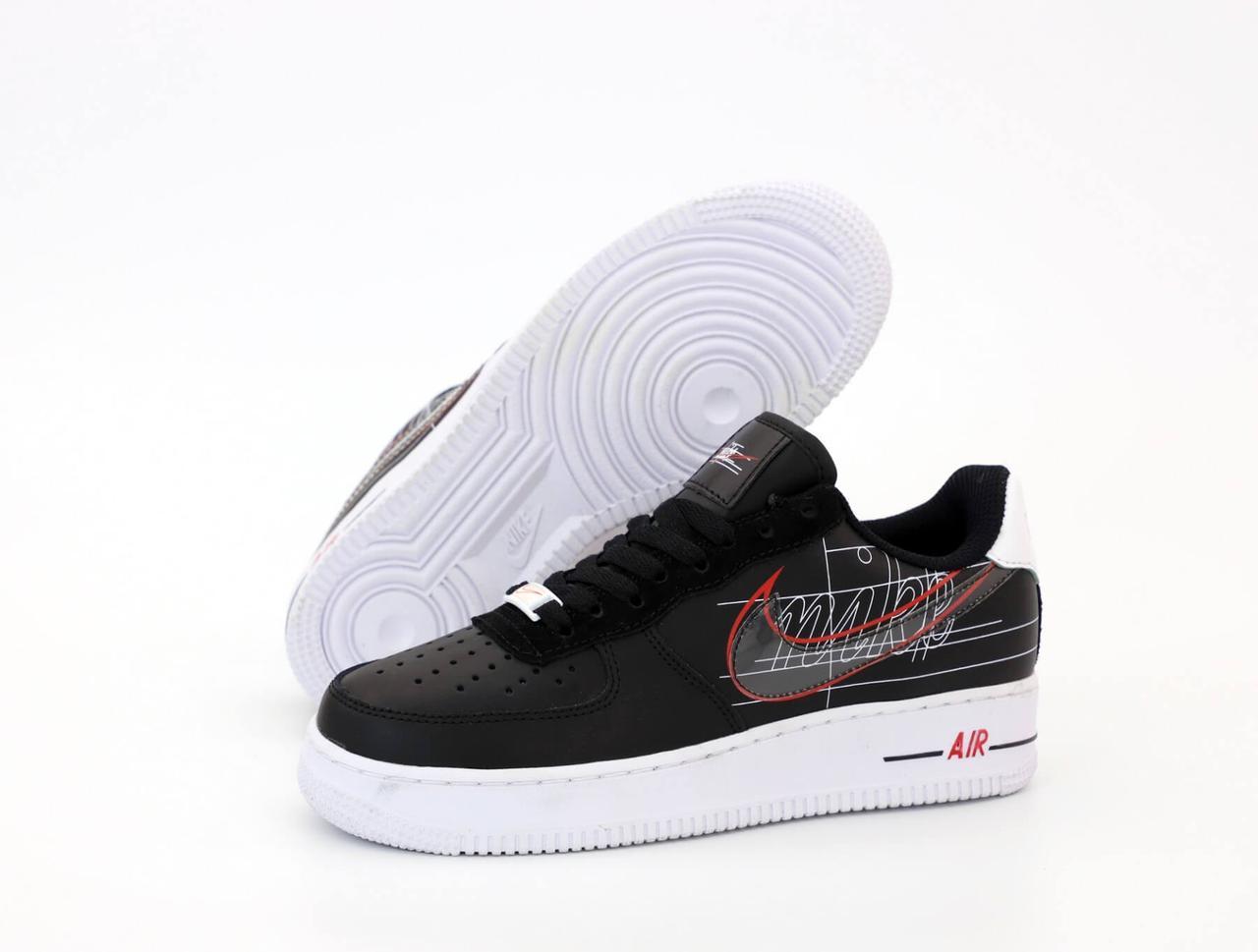 Кроссовки Nike Air Force 1 Low Black White