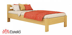 "Односпальне ліжко ""Рената"" з бука (щит, масив)"