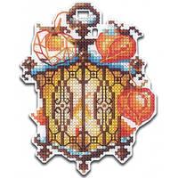 Набор для вышивки крестом на пластиковой основе Сделай Своими Руками Огоньки. Физалис О-23