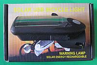 Фонарик велосипедный C15-307 (солнечная батарея)