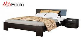 """Двоспальне ліжко """"Титан"""" з бука (щит, масив)"""