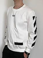 Белый свитшот Off-White
