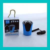 Автомобильный FM трансмиттер модулятор F26 Bluetooth (BX6)!Лучший подарок