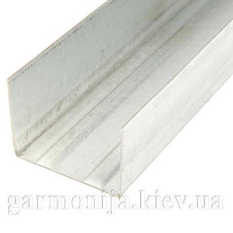 Профиль Knauf UW 50, 4 м 0.6мм, фото 2