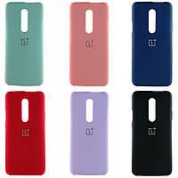 Чехол Silicone case для OnePlus 7T Pro Silicone case (Разные цвета)
