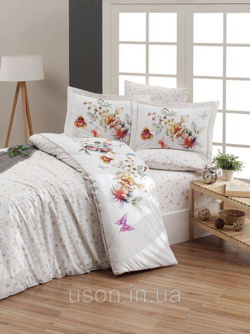 Комплект постельного белья ранфорс de lux First Choice евро размер Naomi New