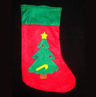 Рождественский носок с аппликацией KPB-0582