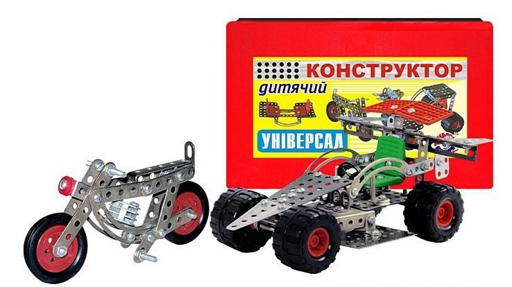 Металлический конструктор Универсал 0922 Технок
