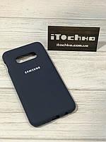 Чехол Silicone case для Samsung Galaxy S10e Midnight Blue