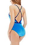 Бархатный голубой купальник Marc&Andre L1932-381, размер XL, фото 2