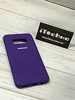 Чехол Silicone case для Samsung Galaxy S10e Purple