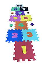Коврик-пазл EVA , «Класики» набір 14 шт. 1,0 м2, 30х30 см, т. 8-10 мм  щіл. 100 кг/м3 TERMOIZOL®
