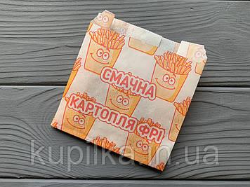 Упаковка для картофеля фри мини (70-100г) 1884