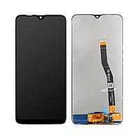 Дисплей (LCD) Samsung M205 Galaxy M20 (2019) PLS с тачскрином, чёрный, оригинал (Factory Refurbished)