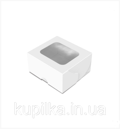 """Картонная коробка для суши """"Мини"""" белая"""