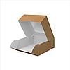 """Картонная коробка для суши """"Мини"""" крафт, фото 3"""
