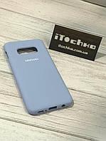 Чехол Silicone case для Samsung Galaxy S10e Sky Blue