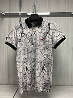 Мужская футболка поло MSY. 11232-8334(grey). Размеры: M,L,XL,XXL.