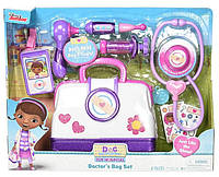 Медицинский набор Доктора Плюшевей кейс доктора Disney Junior Doc McStuffins Toy Hospital Doctor's Bag Set