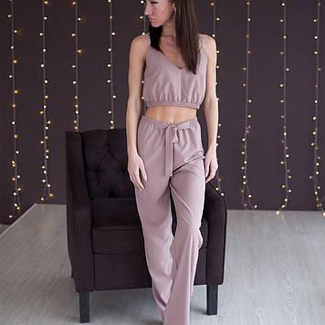 Комплект жіночий штани + топ