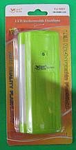 Ліхтар аварійний акумуляторний з бічною панеллю Yajia YJ-1031 (зелений)