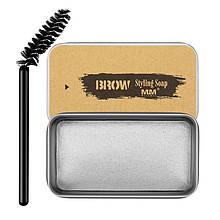 Мыло для бровей Brow Styling Soap фиксирующее гель-мыло с кисточкой, 30 гр