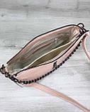 Сумка-клатч  Tina пудрового цвета, фото 4