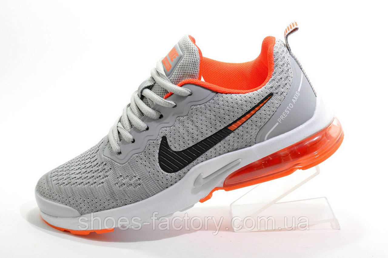 Женские кроссовки в стиле Nike Air Presto 2020, Gray\White\Orange