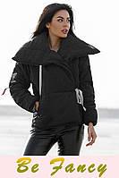 Зимняя куртка на запáх