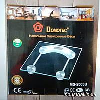 Весы 2003B электронные,напольные с датчиком температуры воздуха