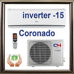 Кондиционер Cooper&Hunter CH-S07FTXW до 20 кв.м. Coronado inverter до -15С, фреон R410a