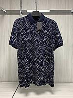 Мужская футболка поло Tony Montana. PL-3257(lacivert). Размеры: M,L,XL,XXL.