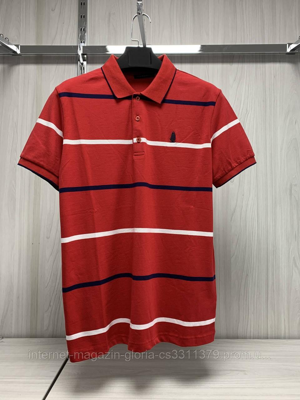 Мужская футболка поло Tony Montana. PSL-2005(tmp241-8). Размеры: M,L,XL,XXL.