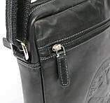 Кожаная сумка на плечо Always Wild Черный (242WS), фото 3