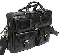 Мужская кожаная сумка-портфель Always Wild Черный (CP 146-CBH-58878), фото 1