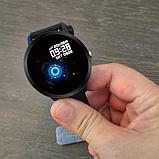 Смарт часы с тонометром фитнес браслет UWatch V11 Black (in-90), фото 3