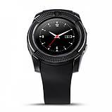Смарт часы с сим картой Smart Watch UWatch Tiroki V8 Black (in-92), фото 2