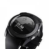 Смарт часы с сим картой Smart Watch UWatch Tiroki V8 Black (in-92), фото 6