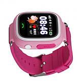 Детские смарт-часы телефон с Wi Fi и GPS UWatch Q90 pink (in-103), фото 3