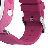 Детские смарт-часы телефон с Wi Fi и GPS UWatch Q90 pink (in-103), фото 5